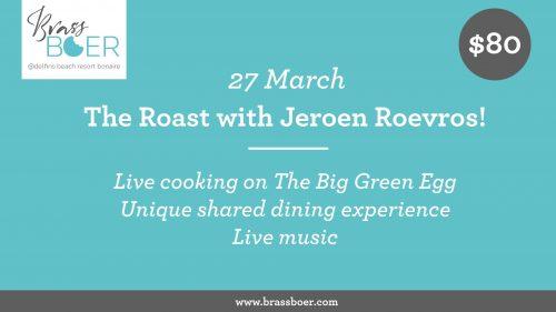 "Brass Boer ""The Roast"" @ Delfins Beach Resort"