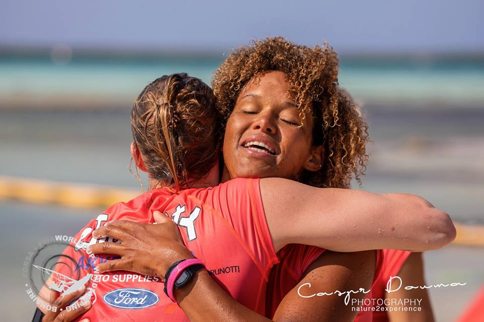 Youp Schmit en Sarah-Quita Offringa winnaars single elimination Forsa PWA World Cup