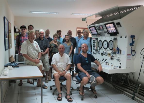 Artsen volgen opleiding duikgeneeskunde op Bonaire