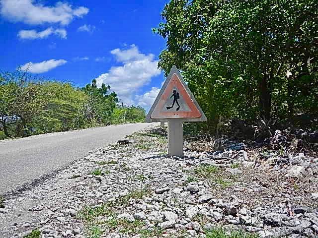 De toeristische route naar Rincon
