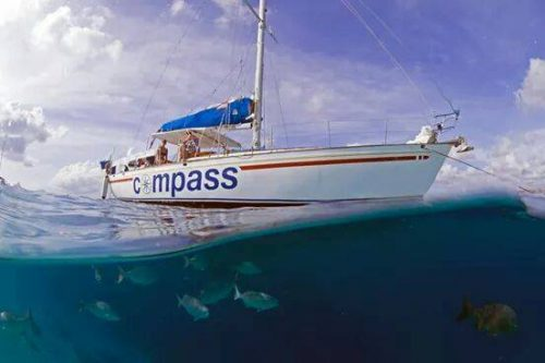 Compass zeil tochten Bonaire