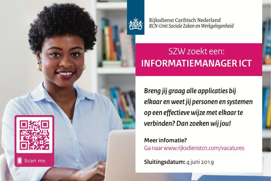 Vacature Informatiemanager ICT