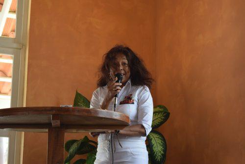 Mavis Abrahams, voorzitter Usibo