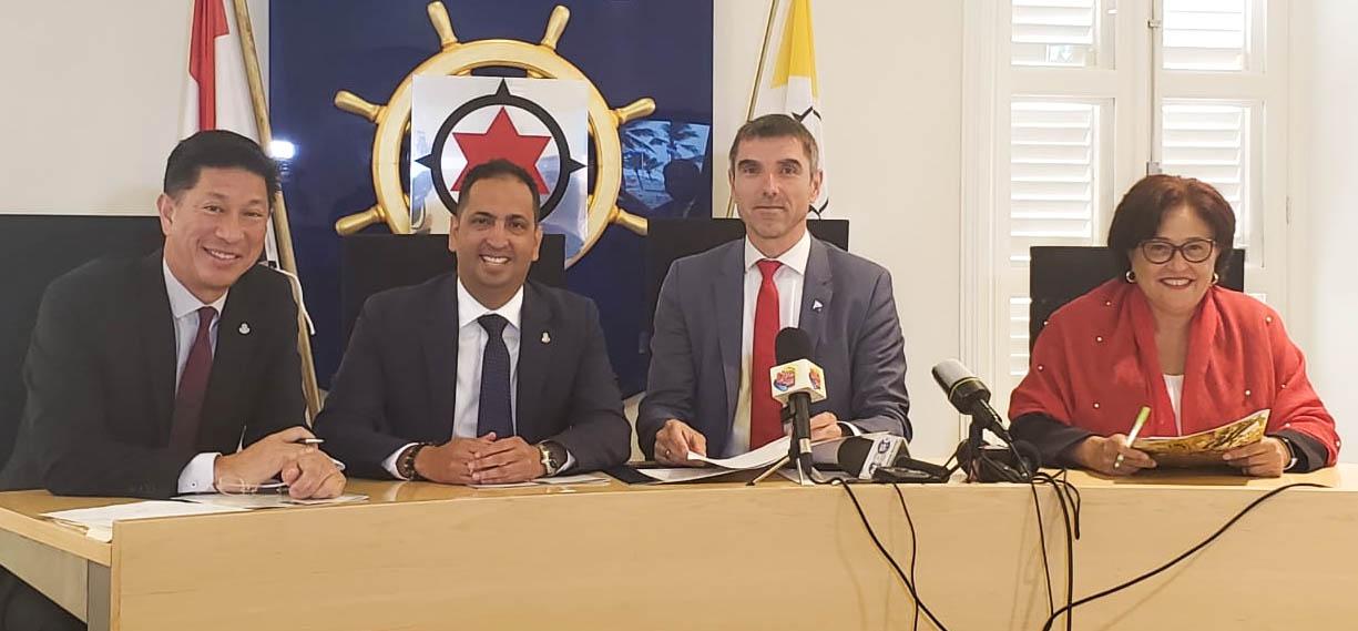 Aruba, Curaçao, Nederland en Sint Maarten intensiveren samenwerking voor betere gezondheidszorg Caribische deel Koninkrijk