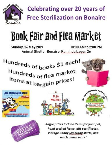 Book Fair & Flea Market @ Animal Shelter Bonaire
