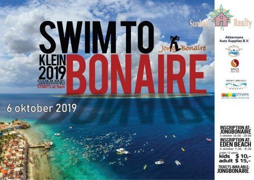 Zwem naar Klein Bonaire