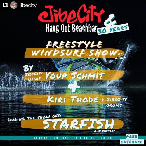 Freestyle Windsurf Show @ Jibe City Sorobon