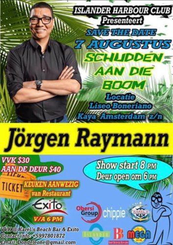 Jörgen Raymann op Bonaire @ Liseo Boneriano