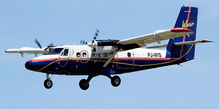 Tijdelijke vluchten Winair  tussen Sint Eustatius en Bonaire
