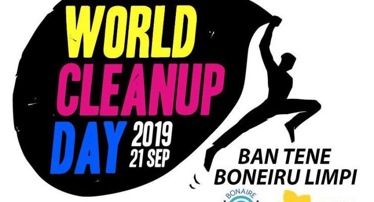 """""""World Clean Up Day 2019 – Laten wij Bonaire schoonhouden"""""""
