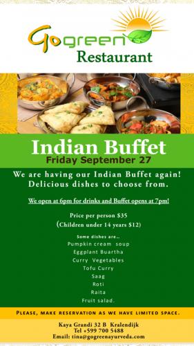 Indian Buffet at Go Green Restaurant @ Go Green Restaurant