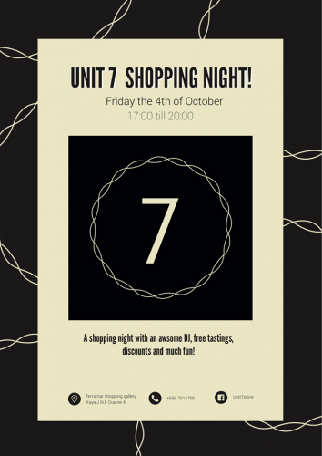 U N I T 7 ~ Shopping Night