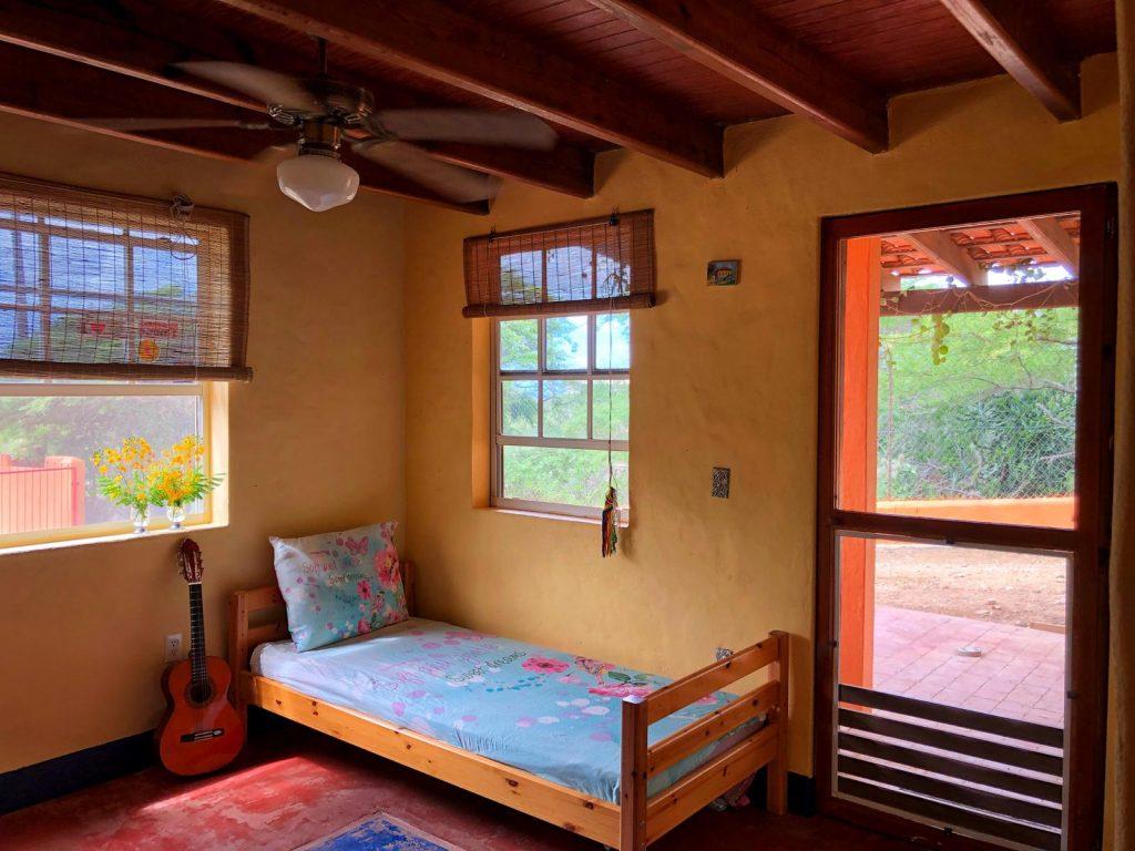 slaapkamer op Bonaire