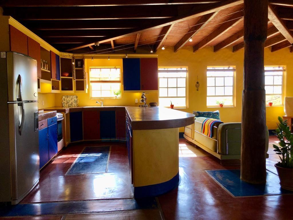 Keuken met bar