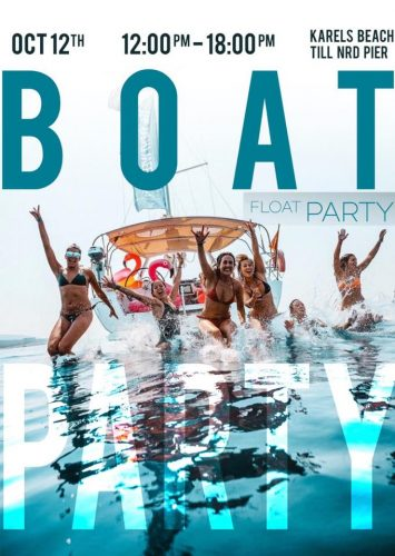 Boat Float Party @ Karel's Bar - Noord pier