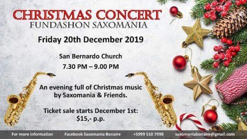 Christmas Concert Fundashon Saxomania