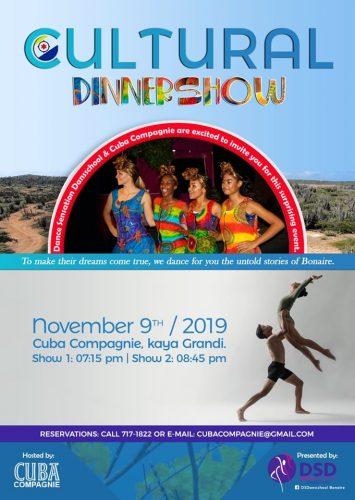 Cultural Dinnershow @ Cuba Compagnie