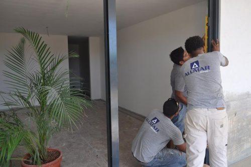 Aluminimum ramen en deuren van Alumar Bonaire