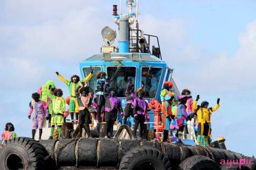 Sinterklaas intocht Bonaire