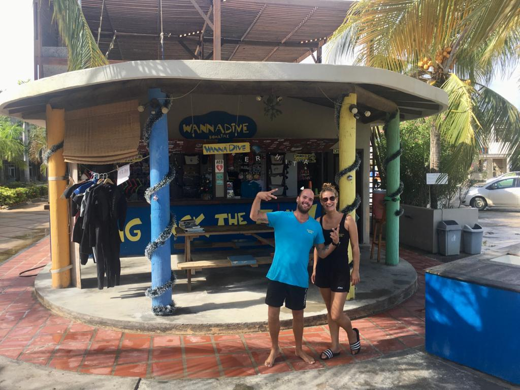 Wannadive op het Eden Beach Resort Bonaire