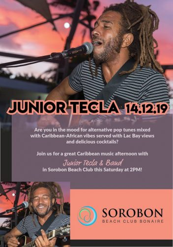Junior Tecla LIVE ! @ Sorobon Beach Club
