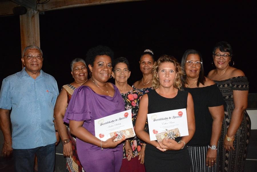 "Fundashon Alzheimer Bonaire bedankt vrijwilligers tijdens haar ""Mashá danki"" Party"