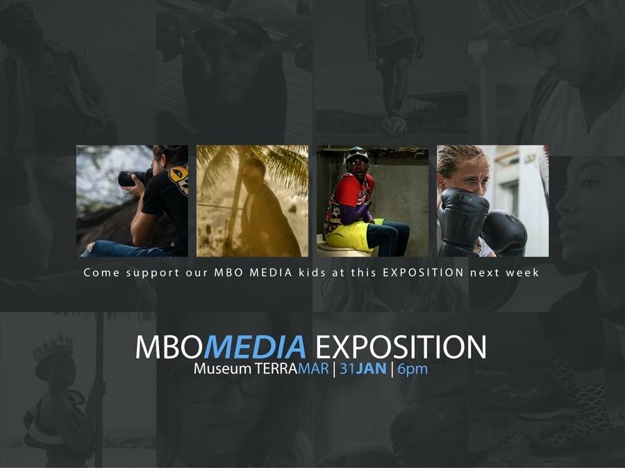 Studenten MBO Media exposeren werk bij Terramar Museum