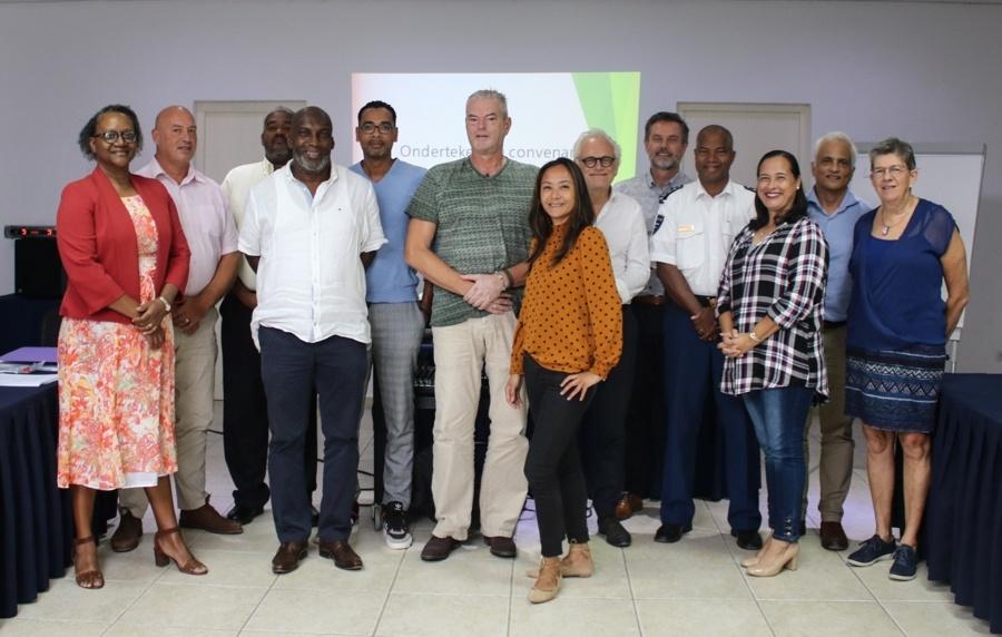 Vernieuwd convenant Zorg- en Veiligheidshuis Bonaire