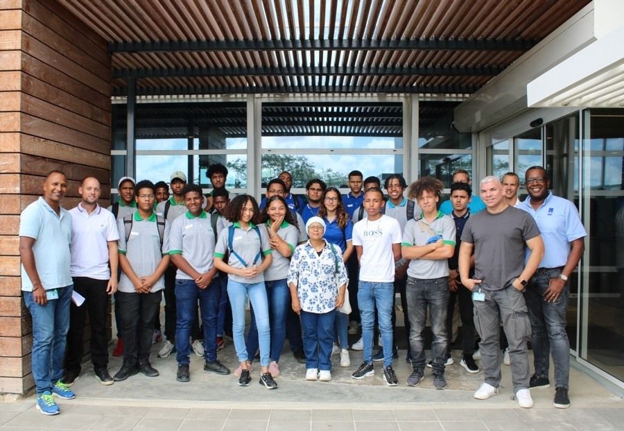 Succesvolle meeloopdag MBO Bonaire