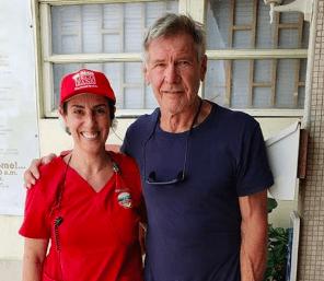 Harrison Ford geniet van duikvakantie op Bonaire