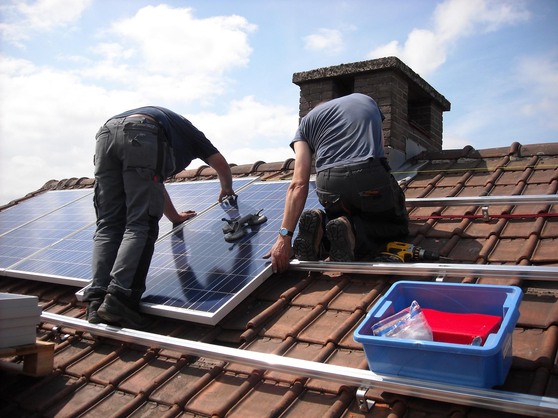 Kosten besparen met zonnepanelen