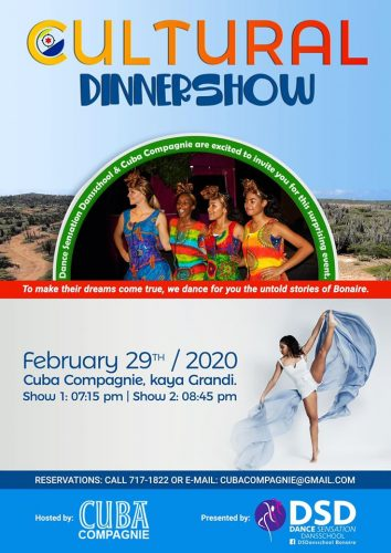 Cultural Dinner Show @ Cuba Compagnie