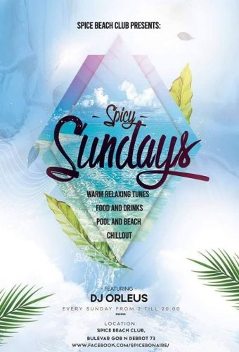 Elke zondag Spicy Sundays