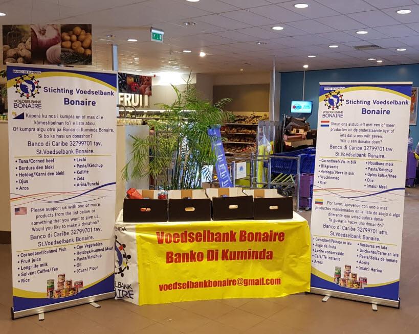 Voedselbank Bonaire ziet vraag naar voedselpakketten verdubbelen