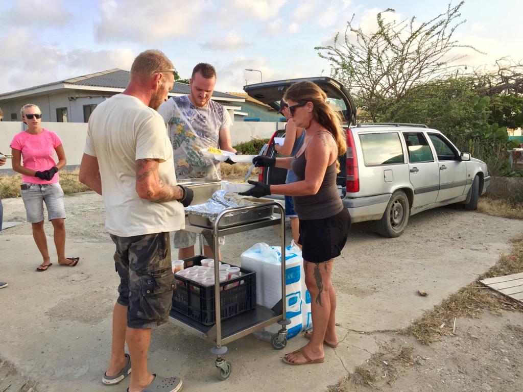 Een voedzame maaltijd voor iedereen op Bonaire
