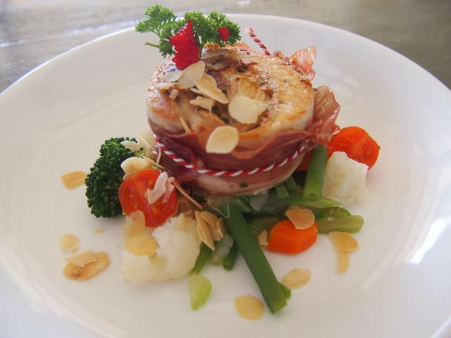 Koken met Corjan: Opgerolde forelfilet