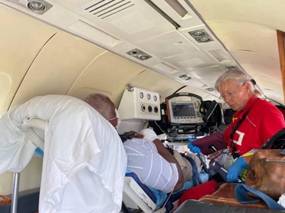 Bonaire neemt patiënt van Saba over
