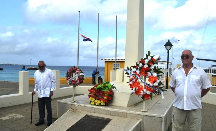 Bonaire herdenkt gevallenen Tweede Wereldoorlog