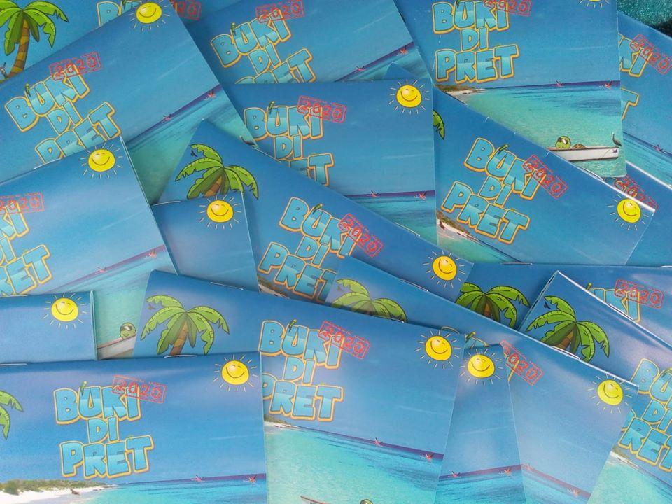 Buki di pret voor de kinderen op Bonaire