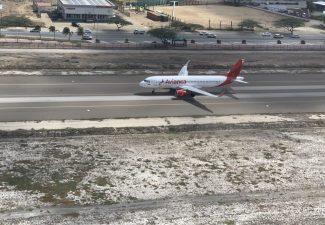 Avianca start vlucht vanaf Aruba | Foto: Dick Drayer
