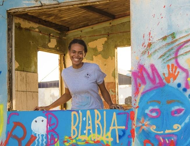 Street Colors Bonaire van start!