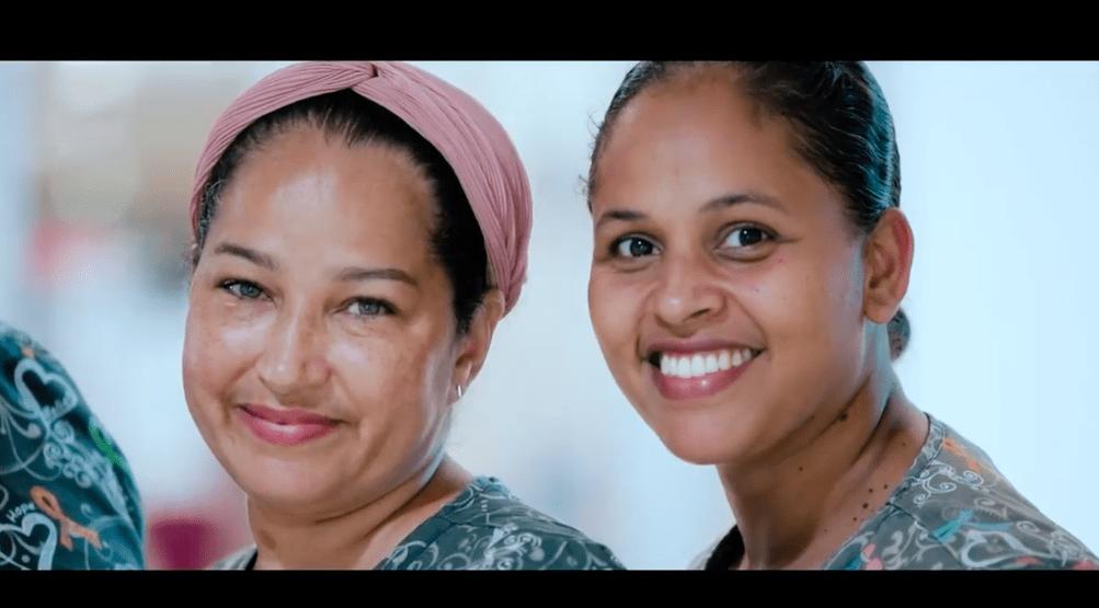 Fundashon Mariadal zet personeel in het zonnetje