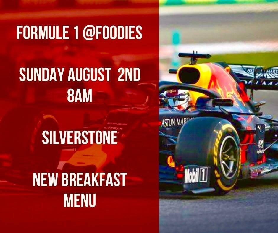 Formule 1 bij Foodies