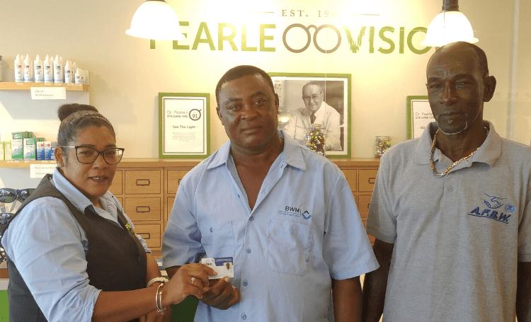 Pearle Vison Bonaire doet ook mee aan het ledenpas project van AFBW