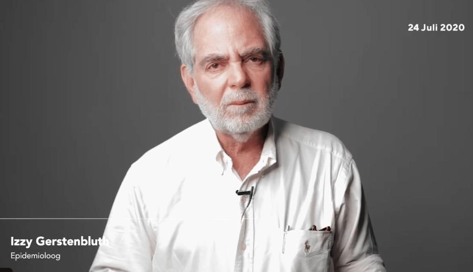 Uitleg Dr. Izzy Gerstenbluth over positief geteste passagier TUI