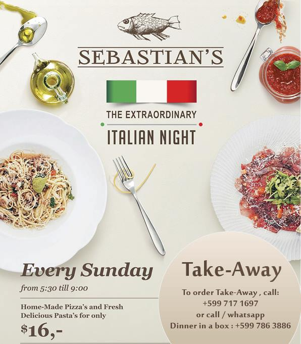 Italian Night bij Sebastian's restaurant