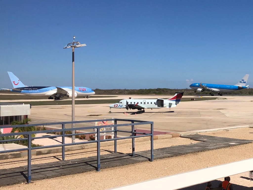 Vliegrestricties Bonaire met maand verlengd