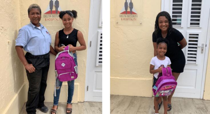 Schooltassen uitgifte Delta Security