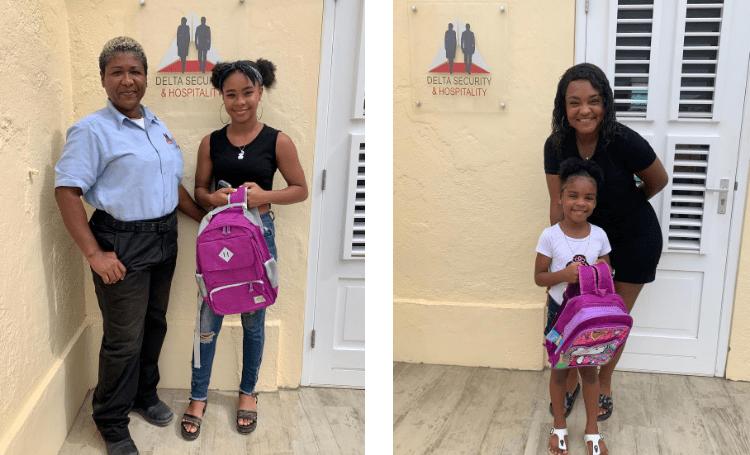 Delta Security geeft kinderen schooltassen