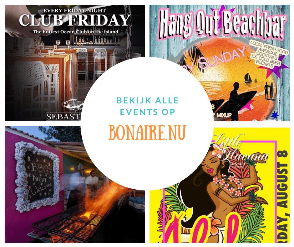 Bonaire's leukste events!